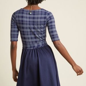 Fervour Dresses - Modcloth In the Very Near Twofer A-Line Dress